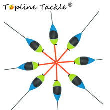 Topline Tackle fishing floats carp foam mix bobbers lot Flotteur buoys barguzinsky accessory Fishing Float