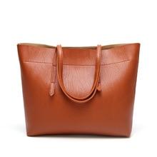Women Shoulder Bag Fashion Women Handbags Large Capacity Tote Bag Western Classic Casual Pu Leather women Messenger bag недорого