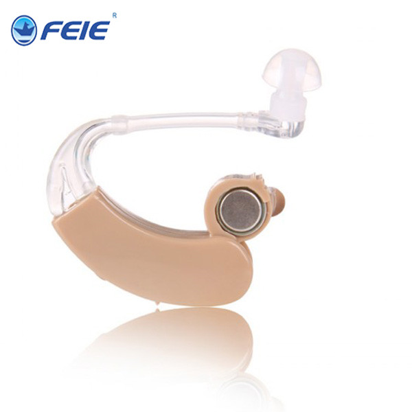 цены  2 PCS hearing aid mini behind ear S-9C listening devices free shipping