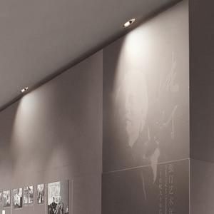 Image 4 - SCON LED 5 ワット/9 ワット偏光壁洗濯組み込み天井ダウンライト博物館専門店ホテル商業屋内照明