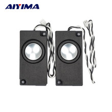 AIYIMA 2Pcs Mini Audio Portable TV Speakers 4/8 Ohm Full Range Computer Speaker Horn For Laptop TV Speaker(China)