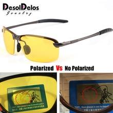 Outdoor Sunglasses women Men Reflective Night vision Anti-glare Goggles UV400 Car sunshade Plarization Women