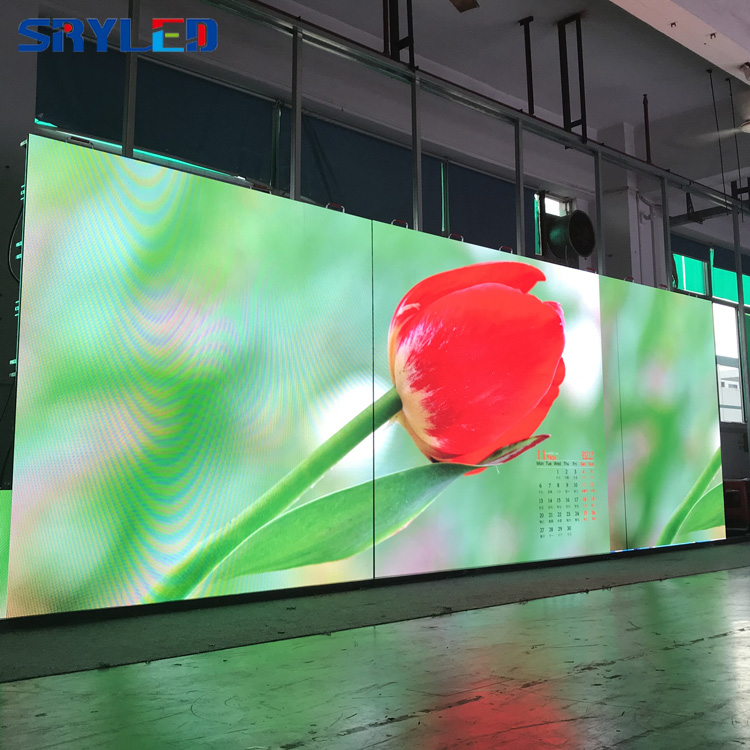Image 4 - SMD2121 Indoor P3.91 Rental Stage Led Display 500mm x 500mm Led Video Wall Panel Screen For Church With Black Light-in LED Displays from Electronic Components & Supplies