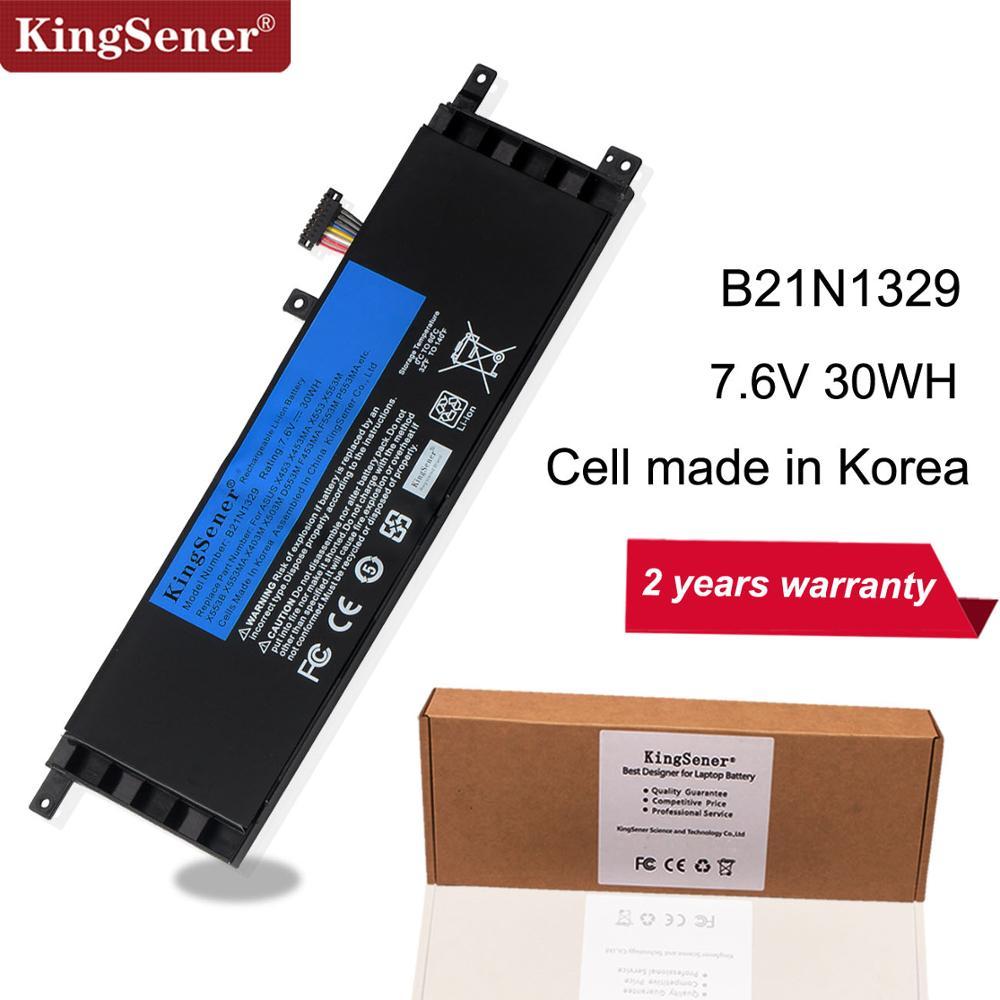 KingSener B21N1329 Laptop Battery For ASUS D553M F453 F453MA F553M P553 P553MA X453 X453MA X553 X553M X553B X553MA X403M X503M