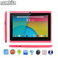 Newkita pc tablet 7 polegada quad core rom q88 8 gb bluetooth android 4.4 external 3g 1024*600 pxl bluetooth tablet google jogar
