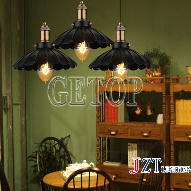 J best price American country lamps Creative light restoring ancient ways single head droplight character simple art lamp j best price crystal black chandelier droplight europe restoring ancient light dining room crystal lamps for bedrooms 6 lights