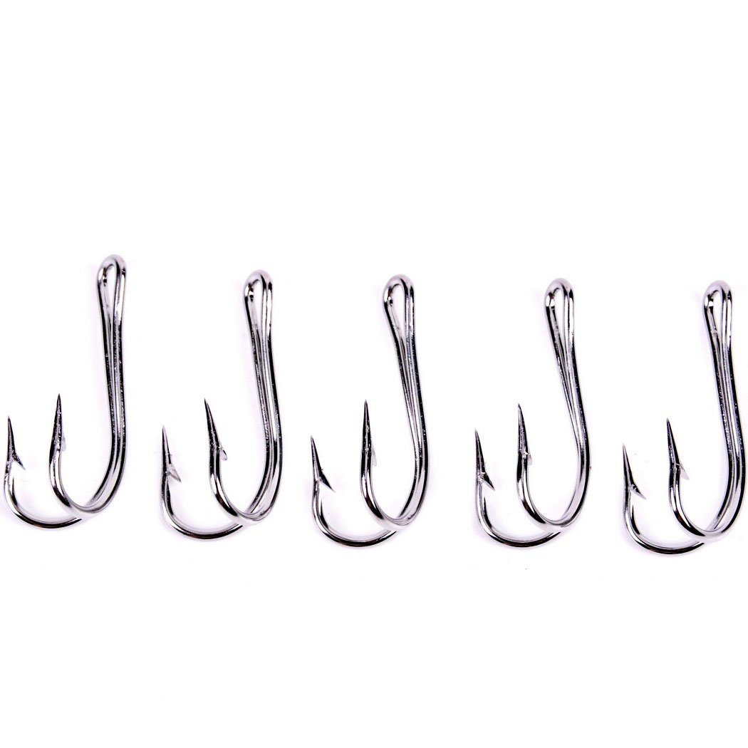 50pcs stainless steel 19 28 freshwater carbon white bait for Pictures of fishing hooks