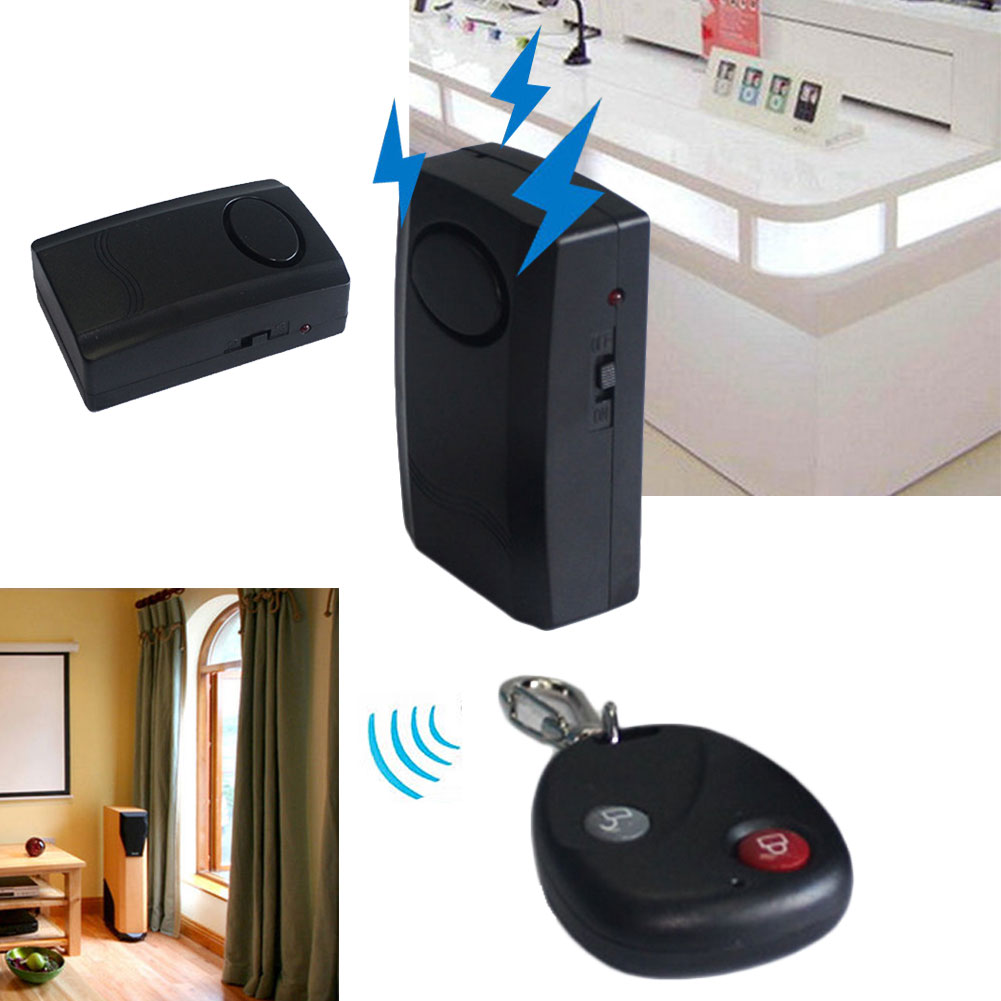 Motorcycle Scooter Anti-theft Security Alarm With Remote Control Keychain Door Window Immobiliser Alarm