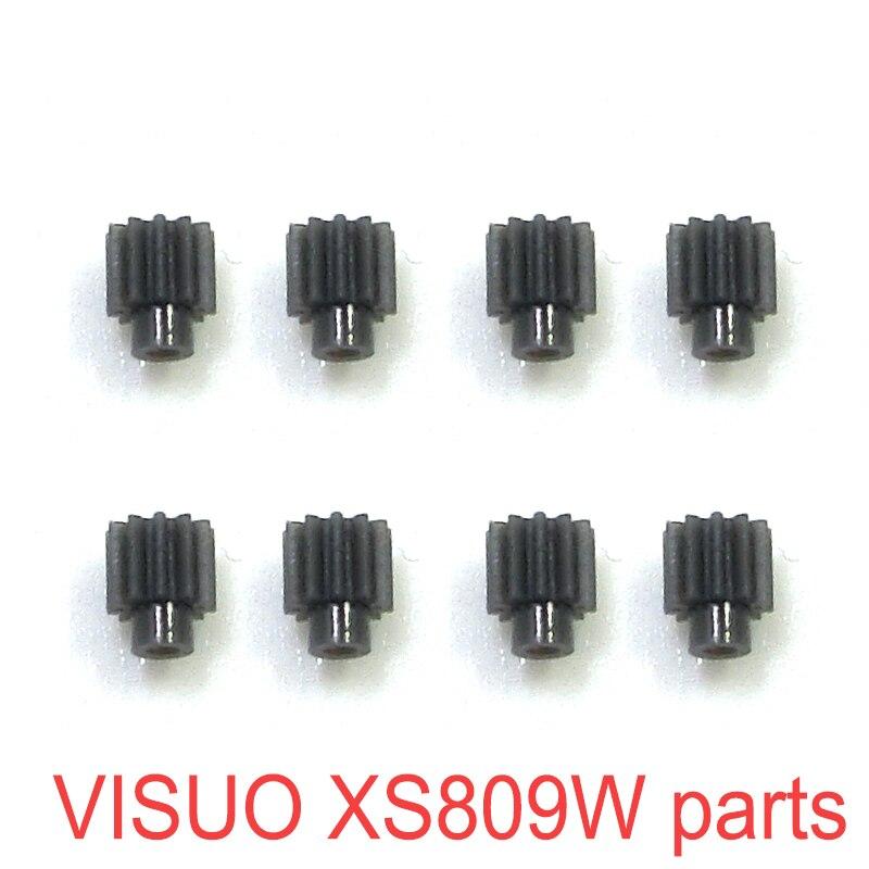 Engranaje del Motor Original para VISUO XS809 XS809S XS809HC XS809HW Mini Drone piezas de repuesto