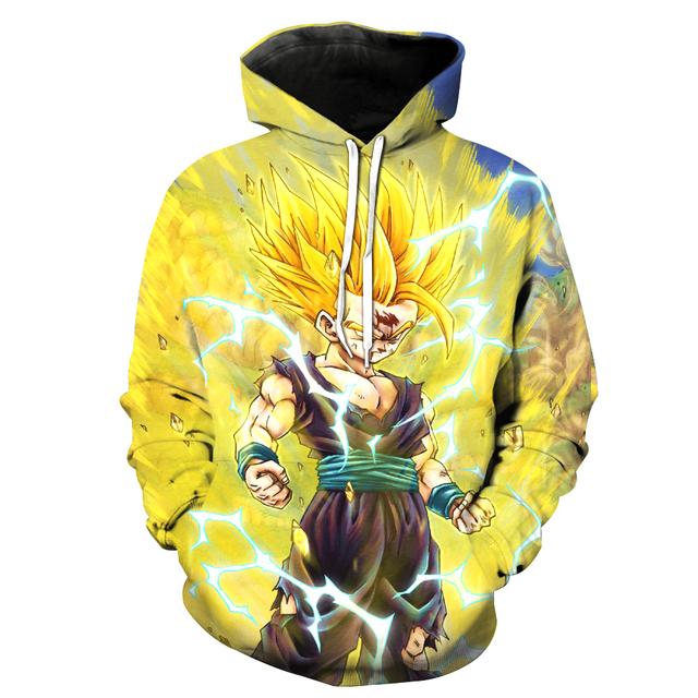 Teen Gohan Sweater Hoodie
