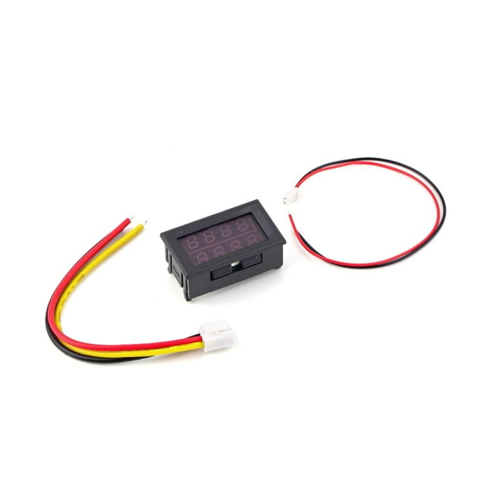1pcs 028 Dc 100 V 10a Voltmeter Ammeter Red Led Digital Wiring Getsubject Aeproduct