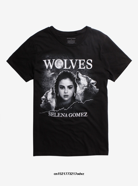41c806cc Men T shirt Fashion SELENA GOMEZ WOLVES Casual T Shirts Summer Shirt funny t -shirt novelty tshirt women