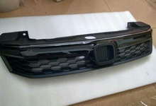 ABS Front  Black Grill Grille Refit  For Honda civic 2012-2014