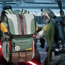 Movies Star Wars Backpack Boba Fett Mandalorian Armor Backpack Student School Bag Casual Travel Backpack printio star wars boba fett