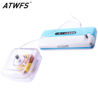 ATWFS Sous Vide Home Food Best Vacuum Sealer Vacuum Packing Machine Vacuum for Food Packer Kitchen Appliances Container