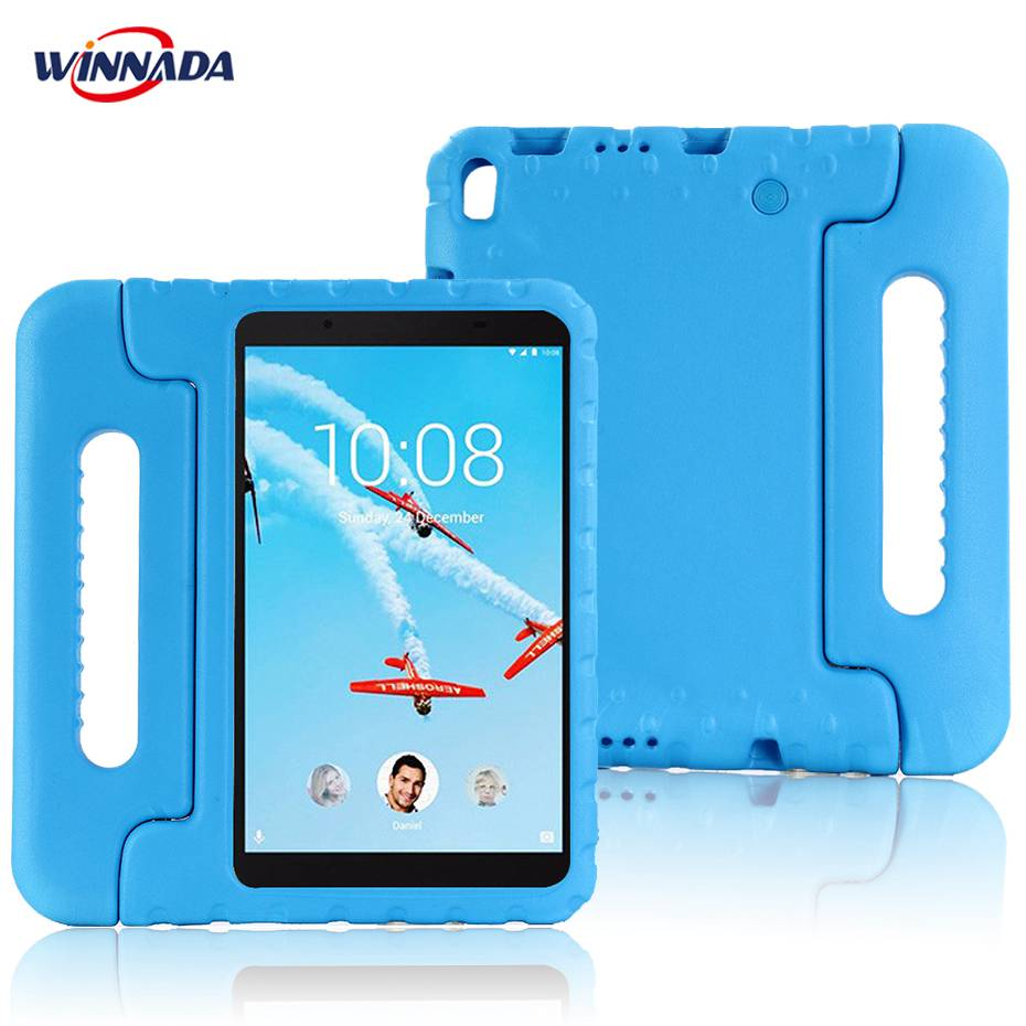 Case For Lenovo TAB 4 8 Plus TB-8704F/N Hand-held Full Body Children Non-toxic Safe EVA Handle Stand Case For Kids Tablet Cover