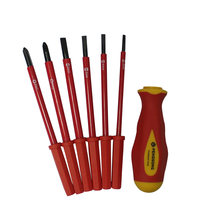 7 in 1 Magnetic Screwdriver Set Multifunction Screw Driver Alloy Steel Slotted Screwdrivers Hand Tool Set For Family Tools(China)