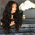 Sexy Body Wave Full Lace Human Hair Wigs For Black Women 2016 Popular Brazilian Lace Front Wigs 180 Density Full lace Wigs