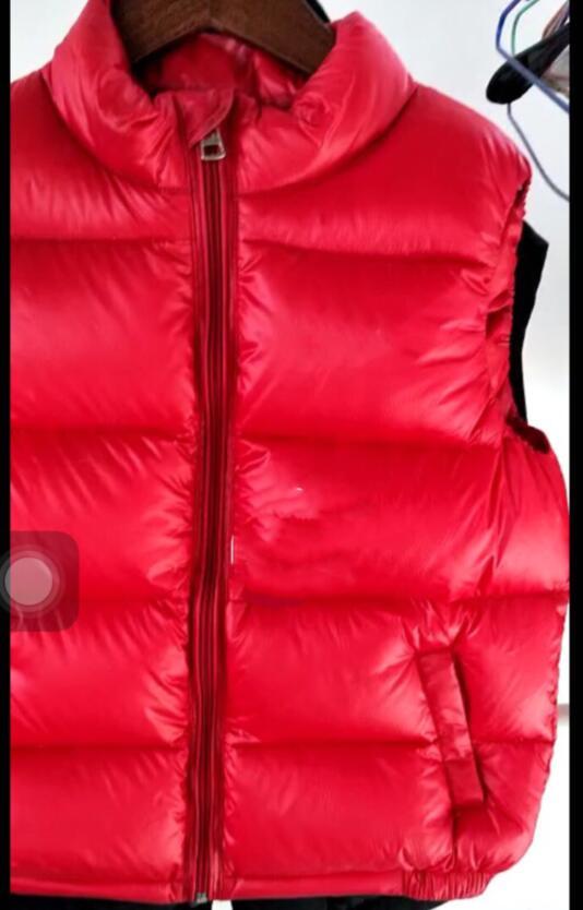 купить Girls Vests Children's Down Warm Vest Girl Fashion High Quality Kids Collar Vest Outerwear