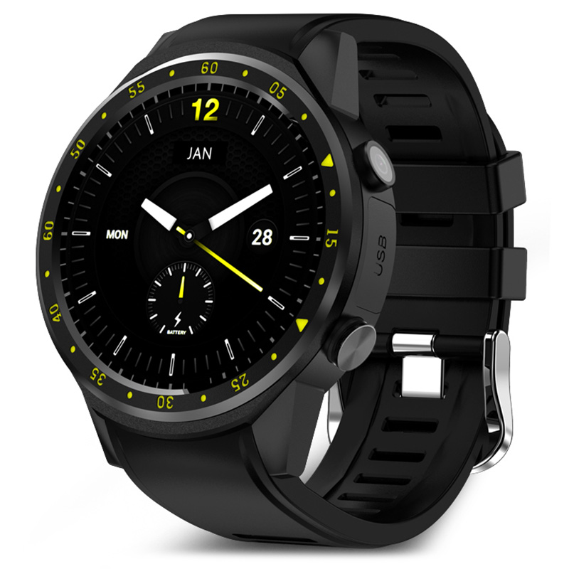 TenFifteen F1 Sports Smartwatch GPS Smart Watch Phone 2G MTK2503 Dual Bluetooth Beidou Camera Sleep Monitor Heart Rate SIM Card