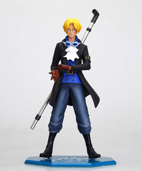 One Piece Cosplay Mera Mera No Mi Sabo 25cm/9.8'' HI-Q Boxed PVC GK Garage Kit Action Figures Model Toys kuroko s basketball cosplay kagami taiga aomine daiki q version 9cm 3 5 boxed pvc gk garage kits action figures toys 5pcs set