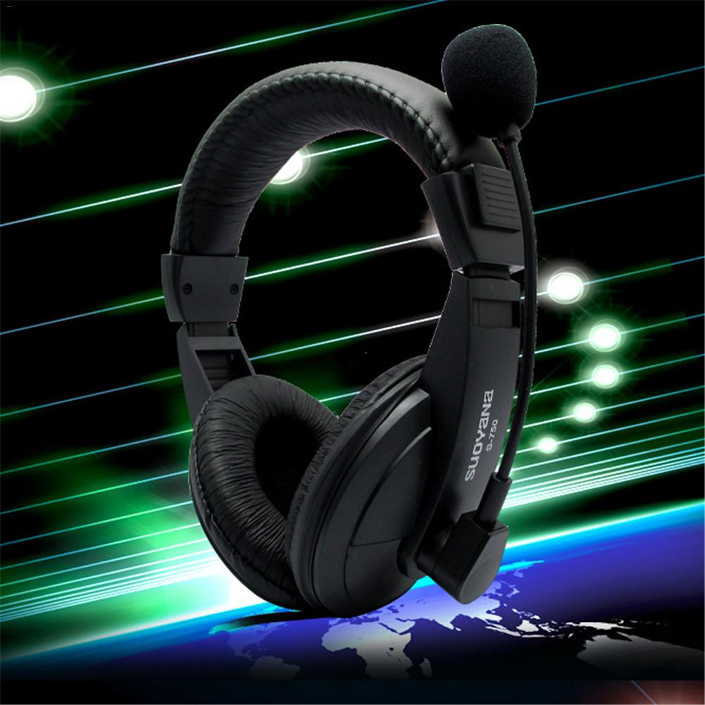S-750 Stereo Bass Surround Gaming Headset for PS4 New Xbox One PC with Micophone