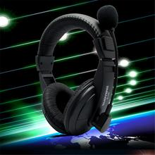 Buy Multicolor 3.5MM Stereo Gaming Headphone Deep Bass Game Earphone Headset Gamer With Microphone For PC Game Headset S-750 directly from merchant!