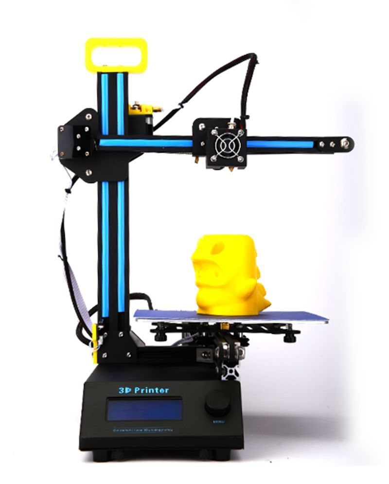2015 newest HIC Reprap Prusa I3 3D Printer LCD 1.75mm 210x210x210mm Aluminum Frame Mini 3D Desktop