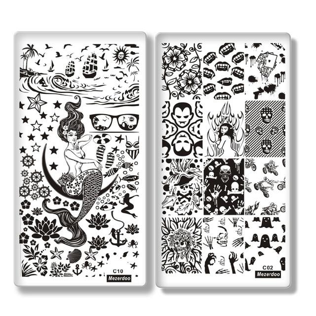 Aliexpress Buy Mezerdoo 10pcslot Creative Design Nail