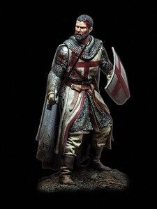Image 2 - Unassambled   1/18 90MM Templar Knight, XII Century     Figure  Historical  Resin kit miniature model Unpainted