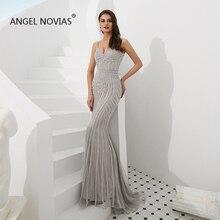 Angel Novias Long Mermaid Evening Dresses 2019