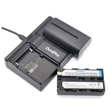 DuraPro 2PCS NP-F550 NP-F570 2600mAh Li-ion Battery + 2-Channel USB Charger for Sony  CCD-SC55 CCD-TRV81 DCR-TRV210 MVC-FD81