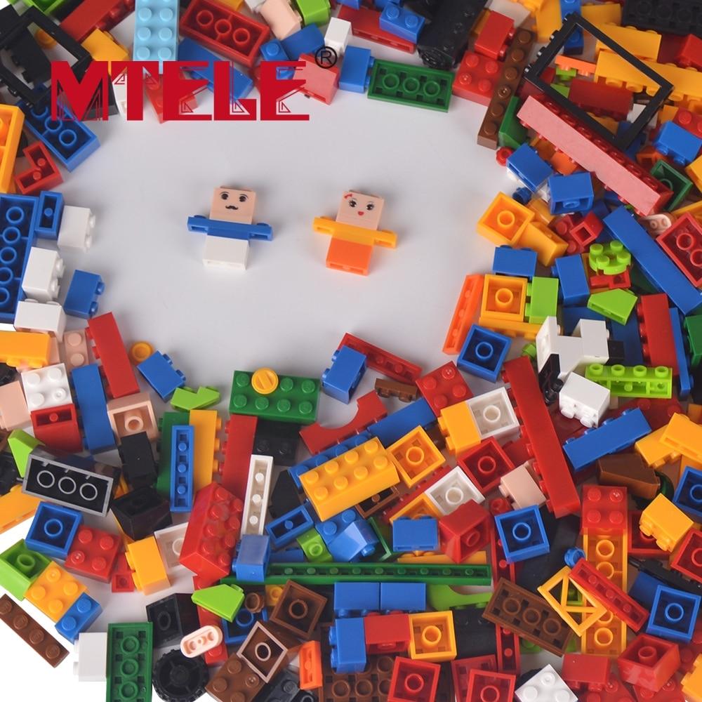ФОТО MTELE Brand High Quality 500PCS Mini building blocks Figures Construction Enlighten Bricks Toy for Children