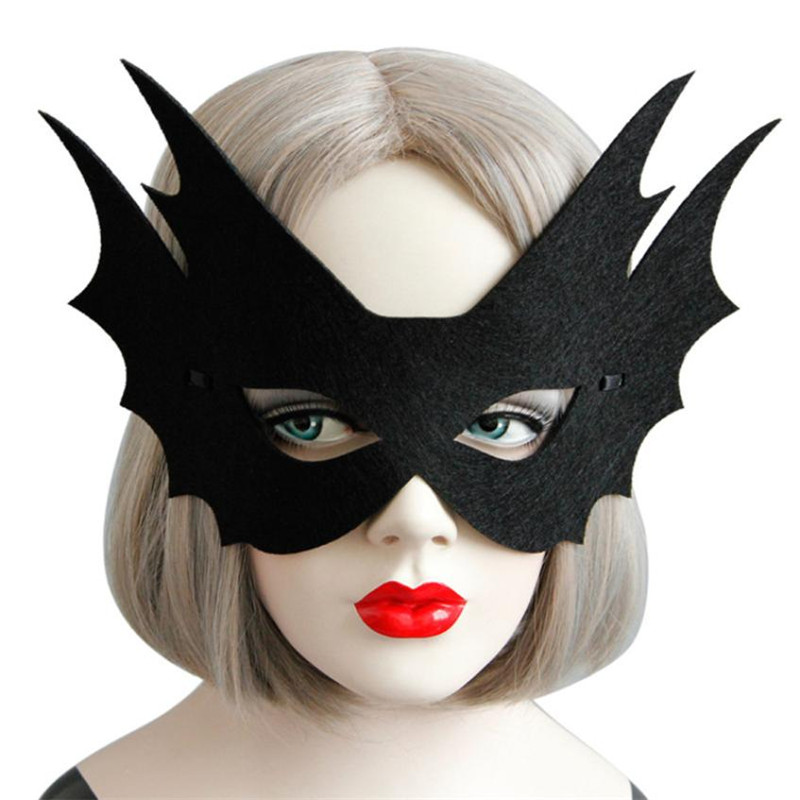 Special 18*14 Cm Plain Superhero Masks Felt Double-sided Cosplay Masks Costumes Party Masks For Girls Easter Gifts Baby Toys Comfortable And Easy To Wear Kids Costumes & Accessories Costumes & Accessories