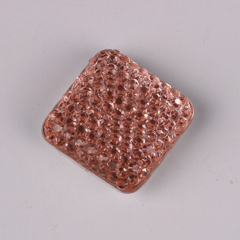 Square Magnet Brooch For Women Exquisite Rhinestone Magnetic Brooches - Fashion Jewelry - Photo 4