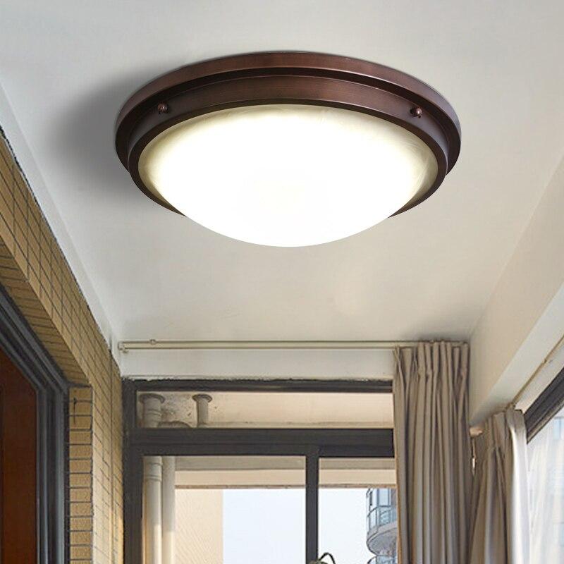 Dôme lumière couloir, couloir balcon chambre salon cuisine toilettes LED étanche lampes et lanternes escaliers