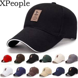 XPeople Classic Polo Style Baseball Cap All Cotton Made Adjustable Fits Men Women Low Profile Black Hat Unconstructed Dad