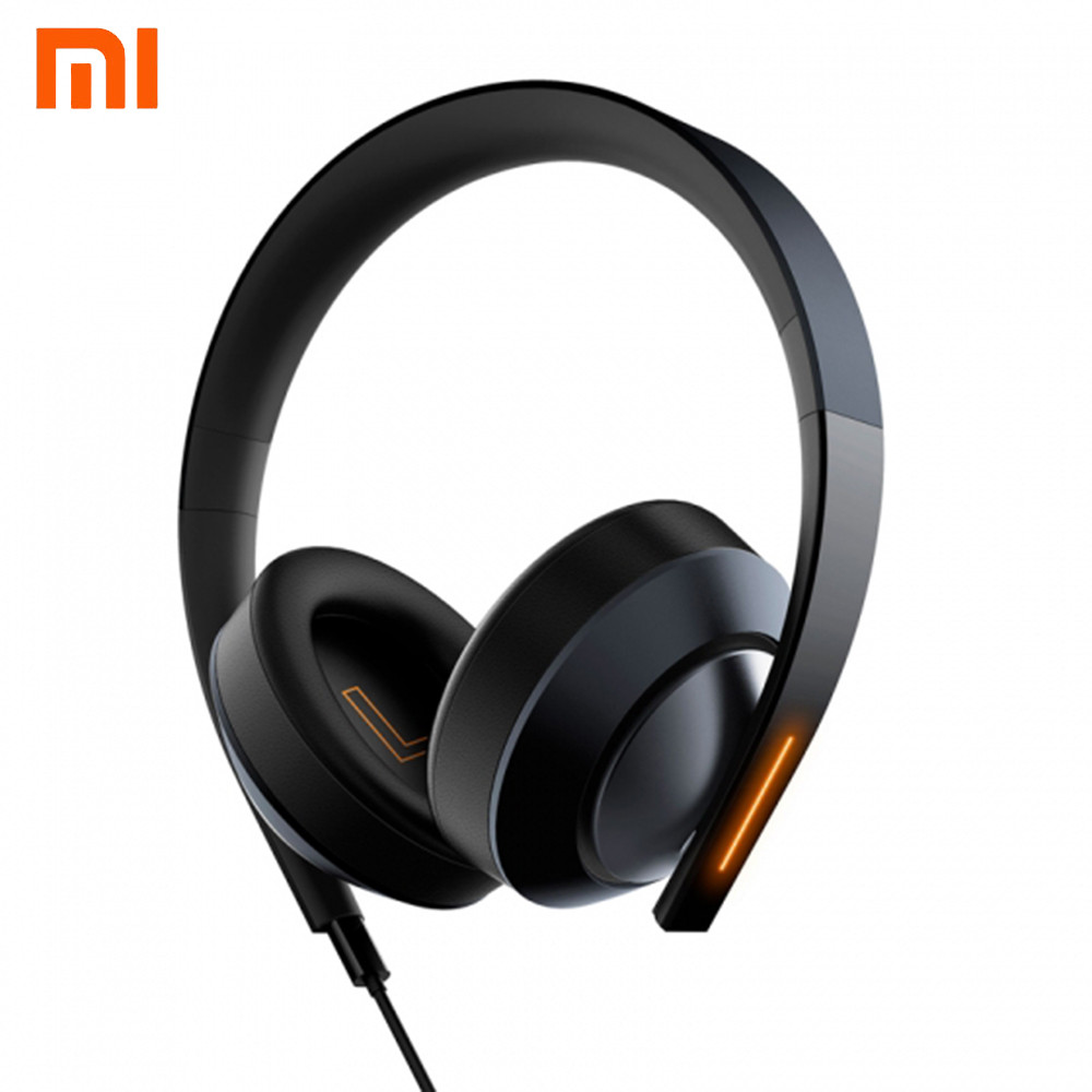 Newest Original Xiaomi Game Earphone Noise Reduction ENC Mi LED Gaming Light Headphone Dual Microphone Gaming Headset For PC a cab at the door