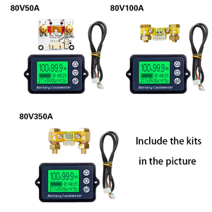 Image 2 - DC8 80V 50A 100A 350A TK15 جهاز اختبار بطارية Coulomb عداد coulmeter قدرة مؤشر LiFePo كاشف coulmeter
