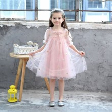 купить Baby Girls Princess Dress Children Girls Summer Party Wedding Dress Kids Dress New Summer Princess Baby Girl Clothes по цене 572.86 рублей