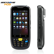 IssyzonePOS Android PosTerminal Water Proof Industrial PDA 1D 2D Barcode Scanner with 4G WiFi GPS BT Warehouse Data Collect PDA