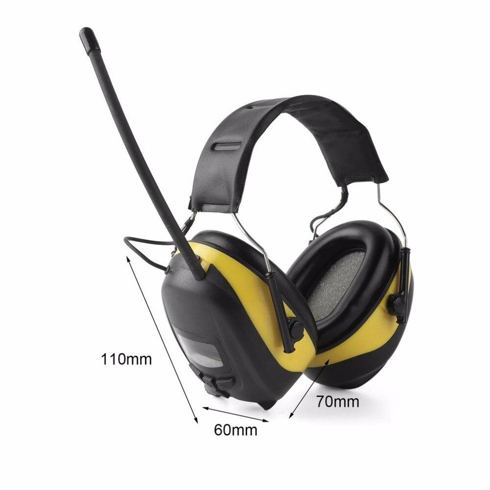 FM/AM Radio Anti-noise Earmuffs Hunting Electronic Tactical Earmuff Shooting Ear Protector Hearing Protecting Earmuffs Headphone