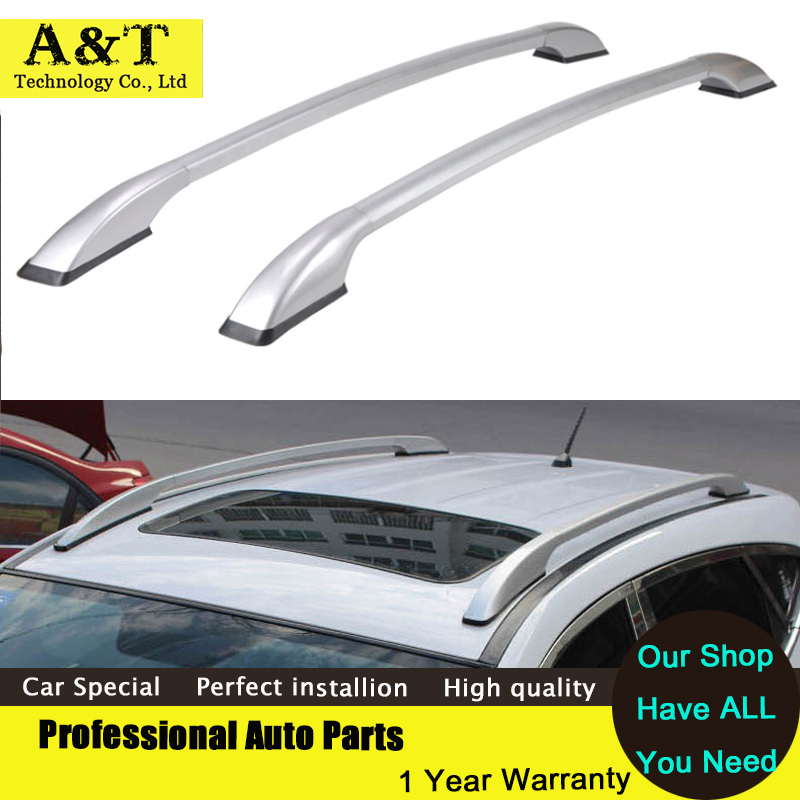 car styling Universal Car Styling Auto Roof Racks Side Rails Bars Baggage Holder Luggage Carrier Aluminum Alloy Accessories High