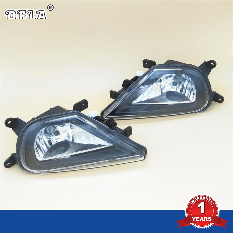 Car Light For VW Touareg 2015 2016 2017 Car-styling Front Halogen Car Fog Light Fog Lamp free shipping new pair halogen front fog lamp fog light for vw t5 polo crafter transporter campmob 7h0941699b 7h0941700b