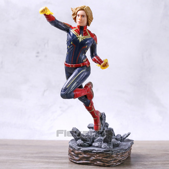 Avengers Endgame Captain Marvel BDS Art 1/10 Scale Statue Collection PVC Figure Model Toy