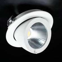 Затемнения 20 Вт Светодиодный светильник Холодный белый/теплый белый светодиодный потайной шкаф потолочные лампы AC85V-265V для домашнего освещения