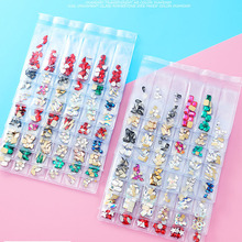 1 Pack 3D Flatback Glass Nail Crystal AB Rhombus  Horse Eye Crystals Stones Shiny Gems Manicure Nails Art Decorations