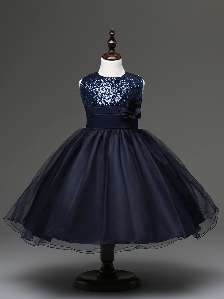 21e9155b9 Fashion Sleeveless Vest Girls Dress New Girl Party Dress Black Red ...