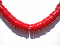 wholesale ocean coral 4x10mm 5strands, rondelle abacus hot red salmon pink white mixed jewelry beads