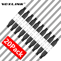 VOXLINK USB Type C Cable for xiaomi redmi note 7 USB C Mobile Phone Fast Charging Type C Cable for Samsung Galaxy S9 S8 Plus